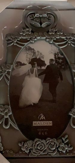 Silver Wedding Frame for Sale in Moorestown,  NJ