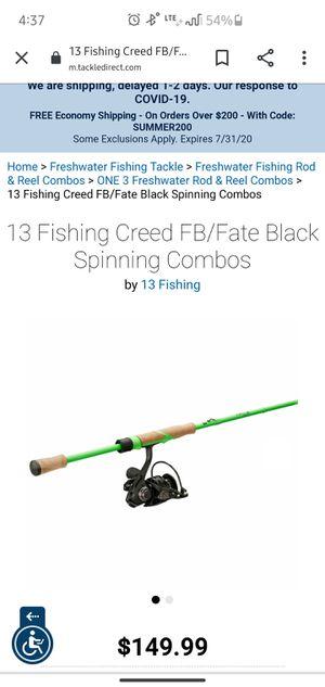 Fishing Combo, Spinning 13 fishing for Sale in Phoenix, AZ