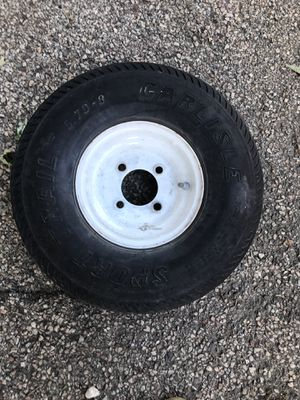 8 inch trailer tire 5.70-8 for Sale in Arlington Heights, IL