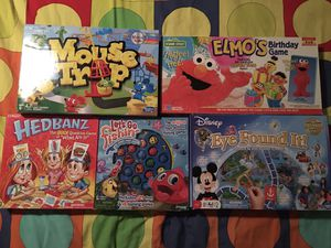 Kids board games lot for Sale in Riverview, FL