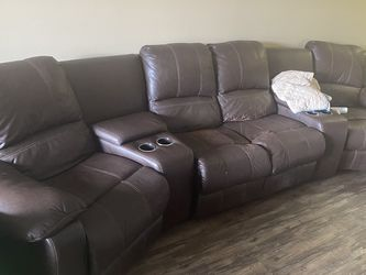 Reclining Couch for Sale in Hollywood,  FL