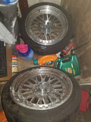 2 avid 1s 15s need tires for Sale in San Francisco, CA
