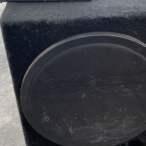 "2 15"" Crossfire Subwoofers Ported Box Amps for Sale in Anaheim, CA"