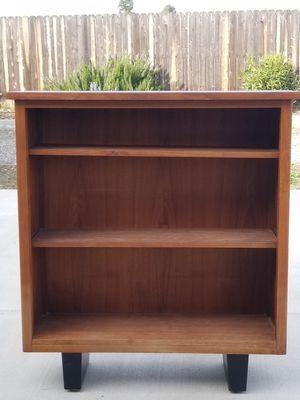 Wood storage/book shelf for Sale in Clovis, CA