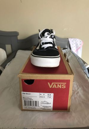 Black and white vans for Sale in Providence, RI