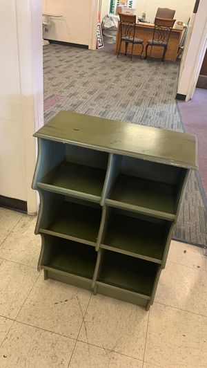 Green wooden storage container for Sale in Mesa, AZ
