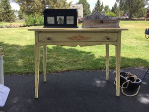 Antique yellow Vanity for Sale in Bend, OR