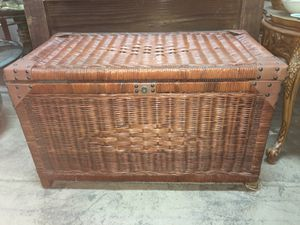 Wicker chest for Sale in Whittier, CA