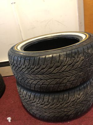 Beautiful pair of 17 inch tires for Sale in NY, US