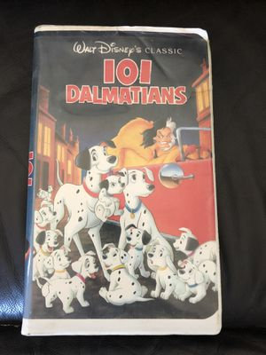 Disney 101 Dalmatians Black Diamond vhs Collectible for Sale in Gardena, CA