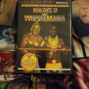 Wwf Highlights of Wrestlemania Dvd for Sale in Chicago, IL