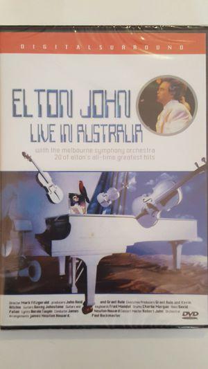 Elton John Live In Australia DVD new for Sale in Richmond, VA