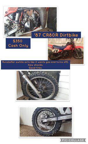 '87 CR80R Dirtbike for Sale in Clinton, IA