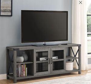 Credenza 2-Door White Oak TV Stand for Media Room, Family Room, Living Room, Entertainment Center for Sale in Los Angeles, CA