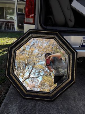Octagon wall mirror for Sale in Charlotte, NC