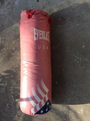 70# Everlast kicking punching boxing bag. for Sale in Austin, TX