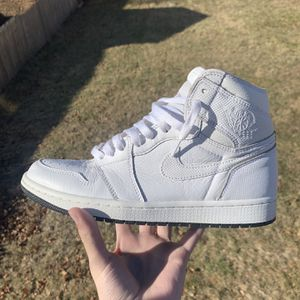 """Air Jordan 1 """"White Perforated"""" for Sale in Derby, CT"""