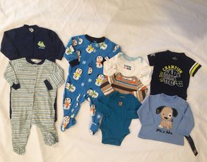 Baby boy clothing lot size 3-6m, 6m, 6-9m for Sale in Sterling, VA