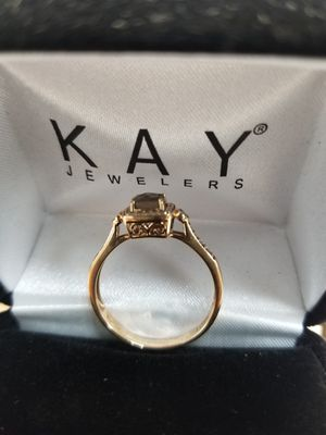 Le Vian-Quartz Ring 1/6 Ct Tw diamond. - Rose Gold 14K. Retails $1179.00 for Sale in Richmond, VA