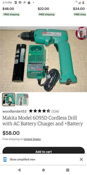 Makita cordless drill for Sale in Huntsville, AL