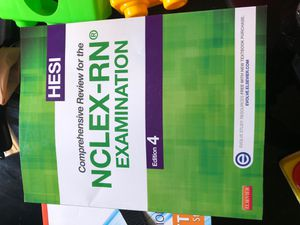 Hesi Nclex -RN book for Sale in Lewisville, TX