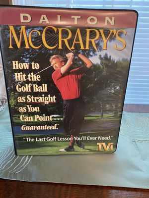 Golfing instruction VHS lessons for Sale in Alhambra, CA