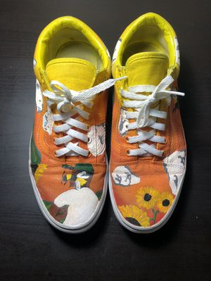 Flower boy vans customs for Sale in Manassas, VA