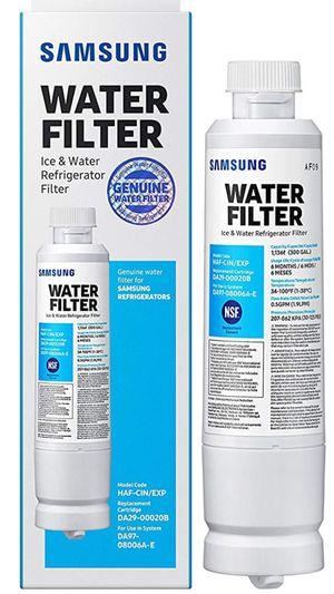Samsung Da29-00020b-1P DA29-00020b Refrigerator Water Filter 1 Pack for Sale in Stockton, CA