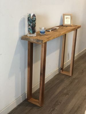 Hardwood entry table for Sale in Dallas, TX
