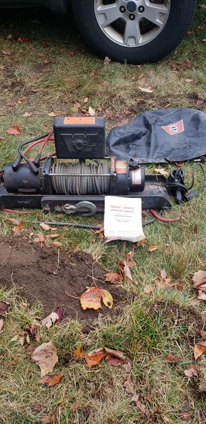 Warn winch for jeep or truck for Sale in Foxborough, MA