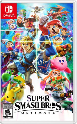 Super Smash Bros Ultimate digital version- Nintendo Switch for Sale in Schaumburg, IL