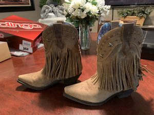 Dingo Fringe Cowboy Boots Size 8 for Sale in Lake Worth, FL