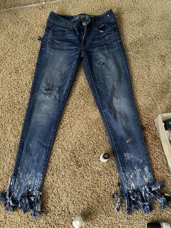America Eagle Customize Jeans