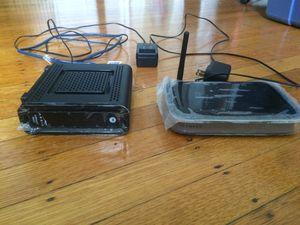 Netgear Router & Arris/Motorola Modem for Sale in Baltimore, MD