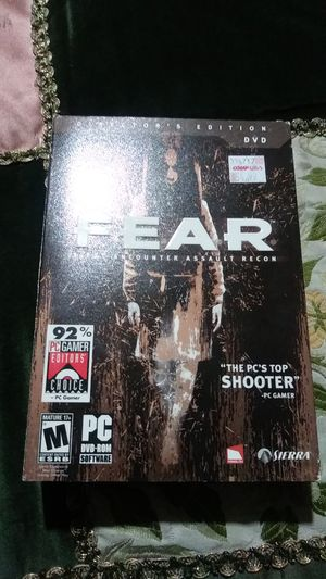 PC game, fear. for Sale in Albuquerque, NM