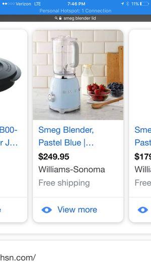 Smeg blender for Sale in Chino Hills, CA