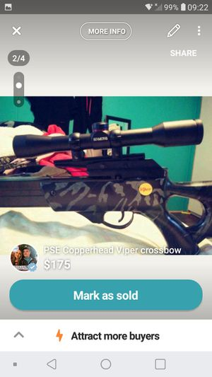PSE Copperhead Viper Crossbow for Sale in Cutler, OH