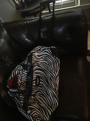 Used zebra roller bag for Sale in Wichita Falls, TX