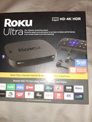 Roku ultra. Brand new. for Sale in Bensalem, PA