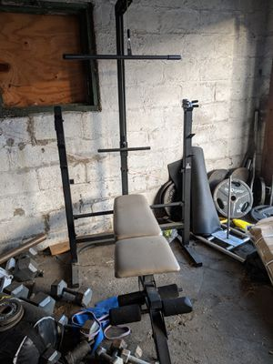 Bench/ lat pulldown/ leg extention for Sale in Columbus, OH