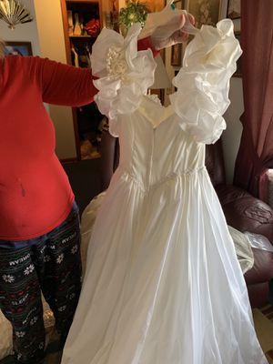 (OBO) Short sleeve wedding dress for Sale in Jonesborough, TN