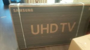"Samsung 55""in the box uhdtv model # UN55RU8000F for Sale in Houston, TX"