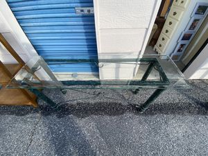 Cast iron Sofa table for Sale in Chelan, WA