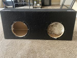 8in subwoofer box for Sale in El Cajon, CA