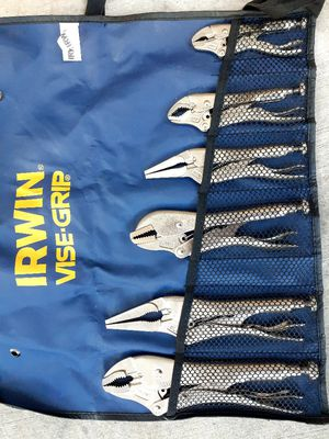 6 piece Irwin vise-Grip set for Sale in Chula Vista, CA
