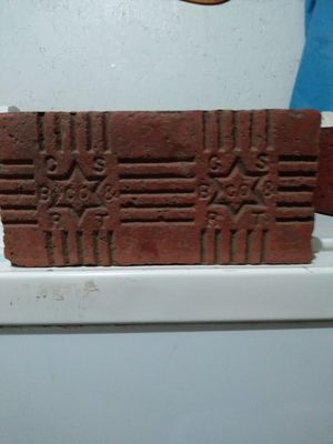Coffeyville star of David brick for Sale in US
