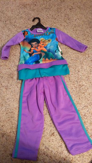 TinkerBell sweat suit size 2t for Sale in Suffolk, VA