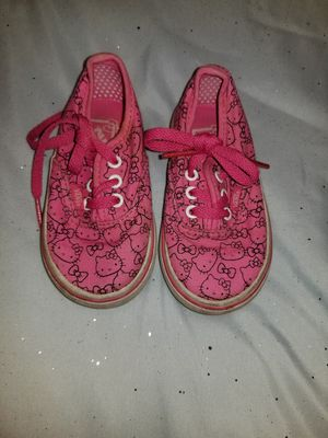 Hello kitty 4.5t vans for Sale in Montclair, CA