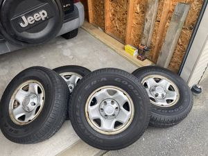 Tacoma 2009 rims with tires for Sale in Tyngsborough, MA