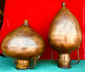 Gorgeous vintage pieces of genuine art, bronze vases and / or candle holders, for Sale in Chandler, AZ